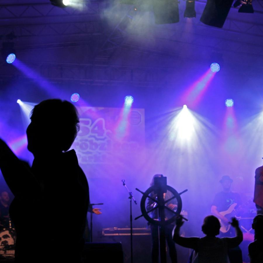 Lichttechnik für Bühnen und Konzerte