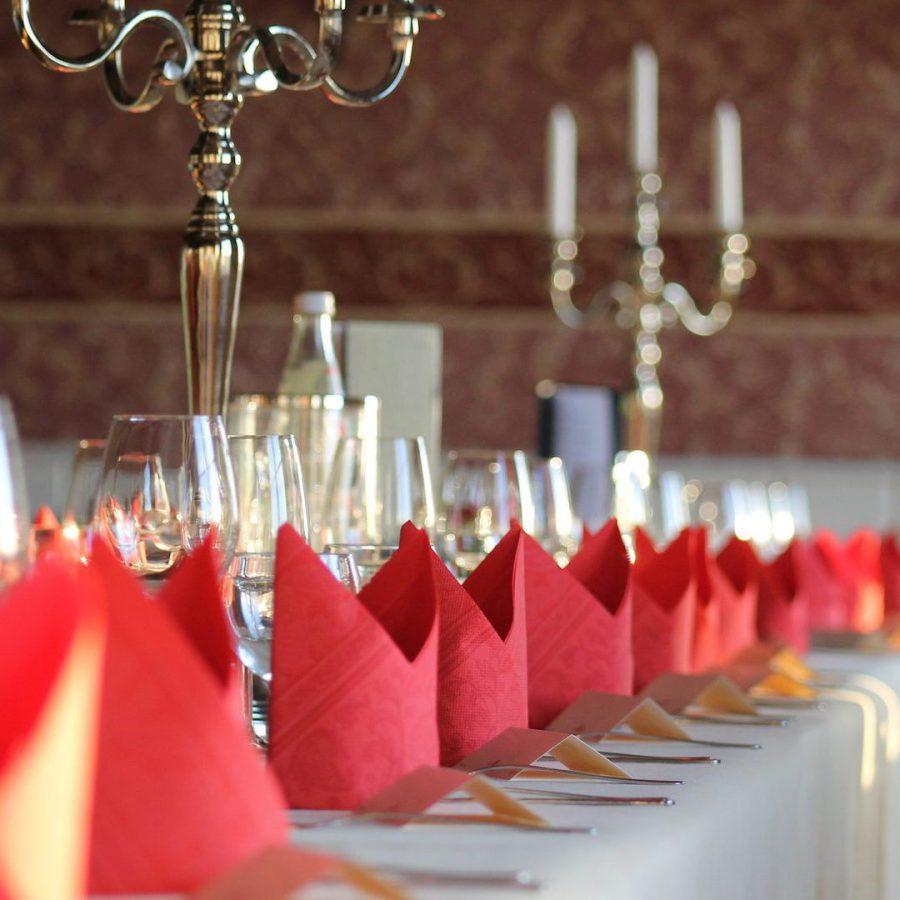 Kerzenständer und Gläser mieten für Veranstaltungen